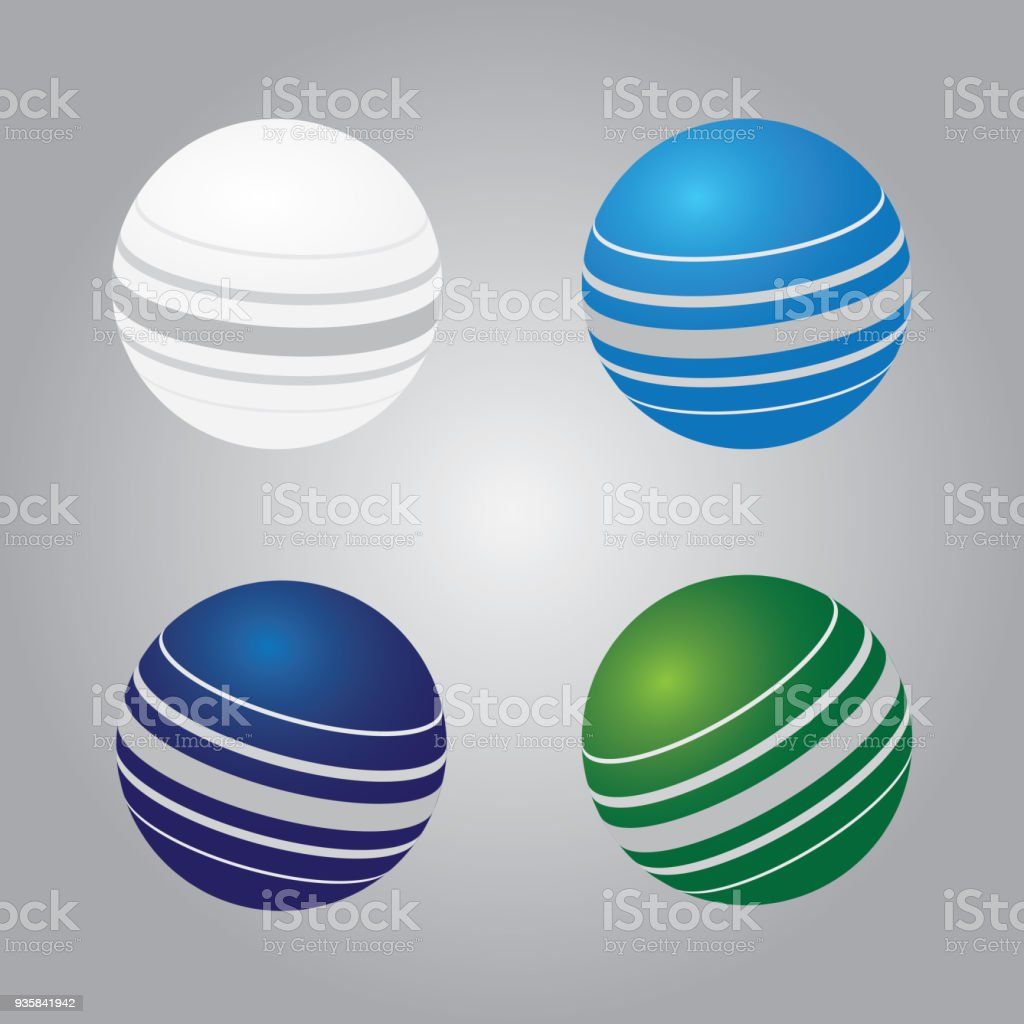 A set of colorful cricket balls for playing