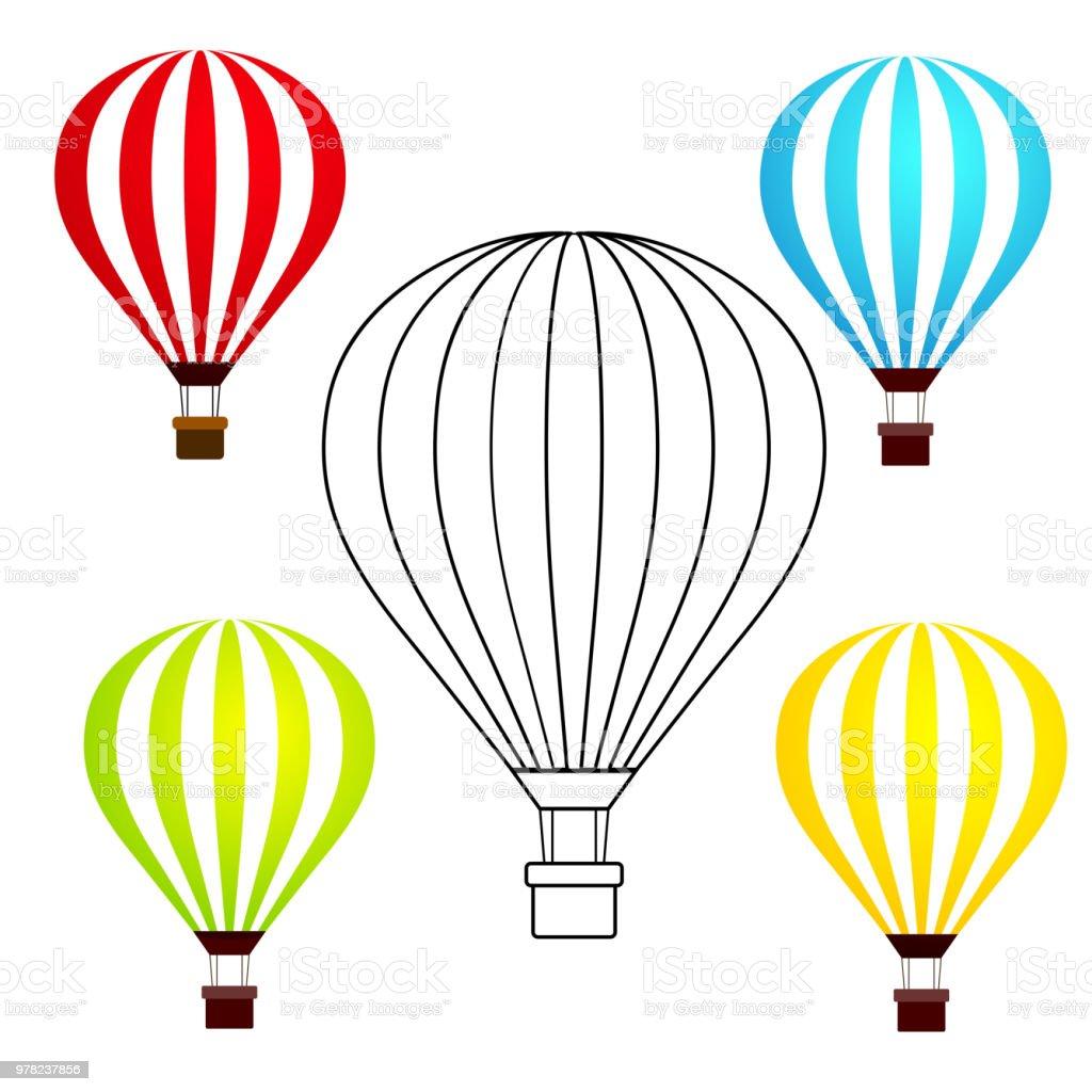1165 heisluftballon korb malvorlage  coloring and malvorlagan
