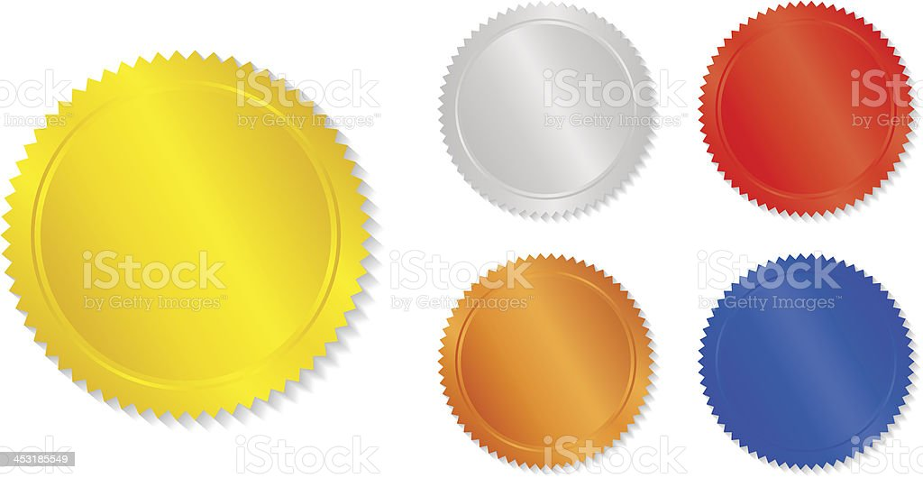 set of colorful vector design elements royalty-free stock vector art