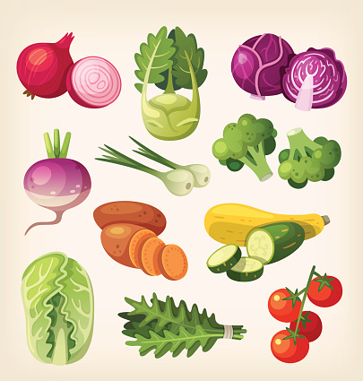 Paleo diet stock illustrations