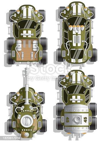 istock A set of combat vehicles. 1320617034