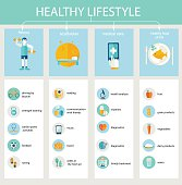 Healthy Lifestyle, Concept, Fitness, Rest, Healthcare, Food, Medicine