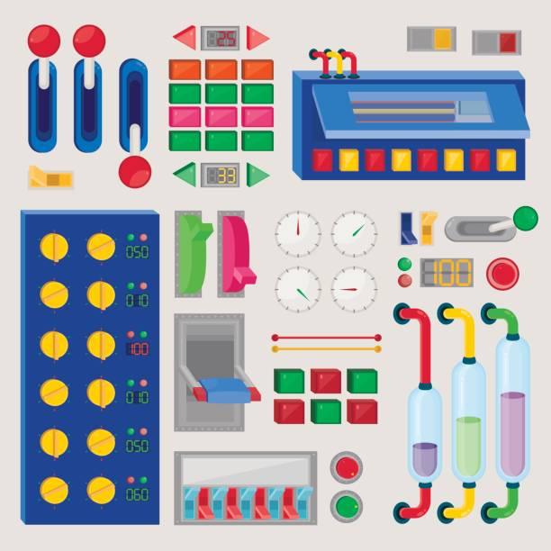 satz von der control-taste - dashboard, hintergrund, hell stock-grafiken, -clipart, -cartoons und -symbole