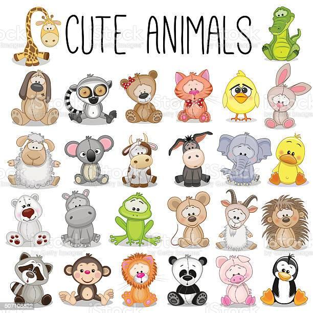 Set of cute animals vector id507108822?b=1&k=6&m=507108822&s=612x612&h=p8zwwrvdp1tqvzmyvzmhjp9z3 ure0kftaw3zzi xis=