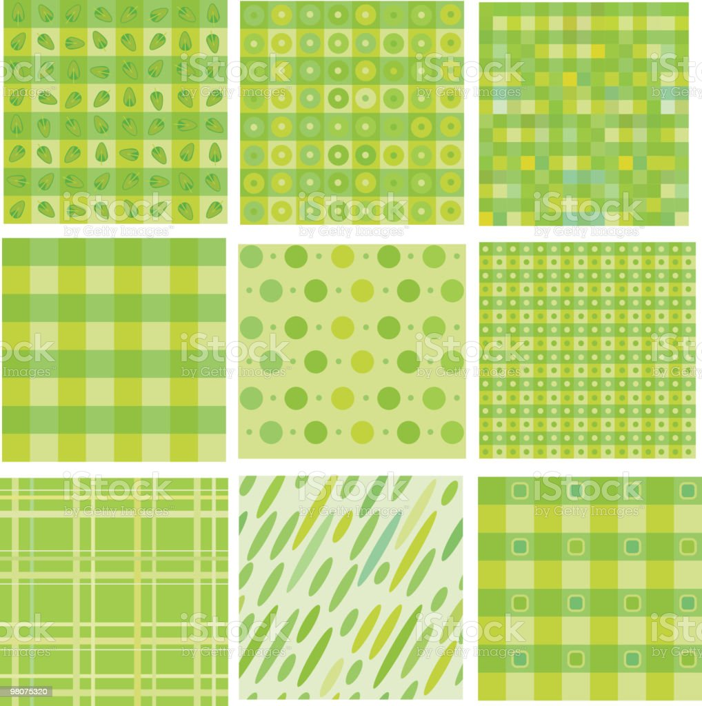 Set of cute backgrounds. royalty-free set of cute backgrounds stock vector art & more images of abstract