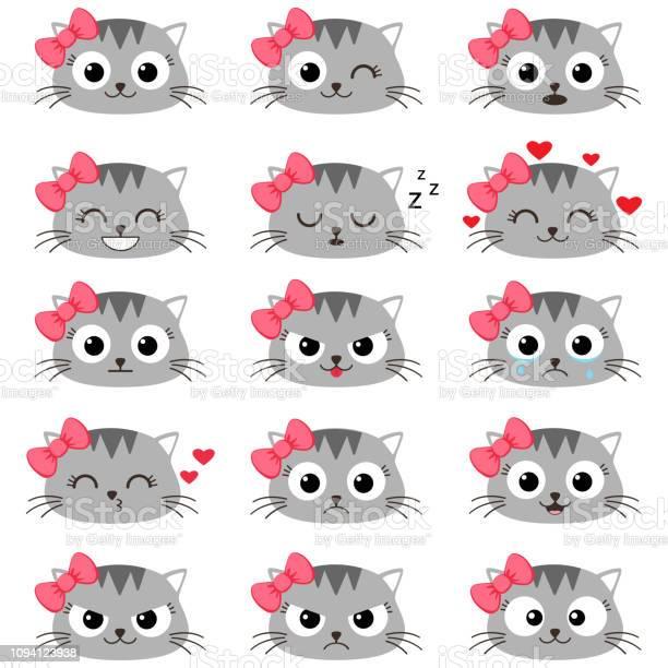 Set of cute cartoon cat emotions vector id1094123938?b=1&k=6&m=1094123938&s=612x612&h=qrgmrw3x4mdmellkgmeebrifabl ucptld32yfvclfu=