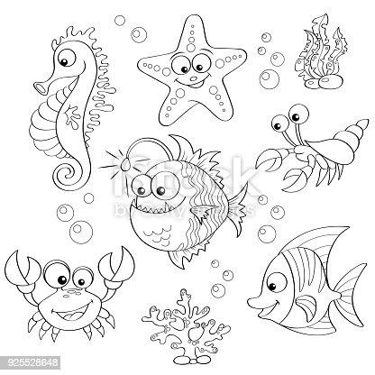 ᐈ Imagen De Conjunto De Animales De Dibujos Animados Lindo