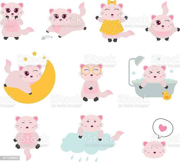 Set of cute cats vector id471258552?b=1&k=6&m=471258552&s=612x612&h=5rq8zyfeys9ikk6lk7eb6hipsvxmgvf1temklhplws8=