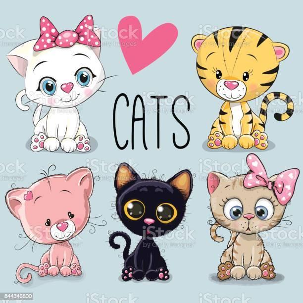 Set of cute cats vector id844346800?b=1&k=6&m=844346800&s=612x612&h=sha2pxmm65kutriej7u3gh6s s1ok0sqg1l9x0bvqv0=
