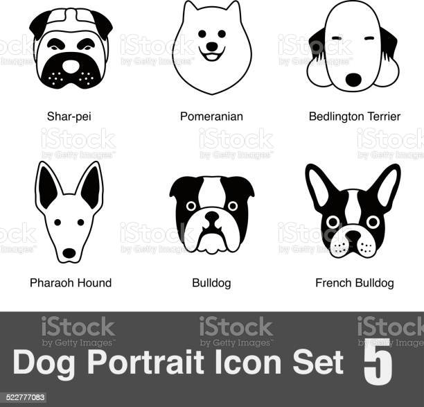 Set of cute dog face icons vector illustration vector id522777083?b=1&k=6&m=522777083&s=612x612&h=kf2hodjexjuda3mkddz0fpaa62hpkaf9g2urnc0lbe4=