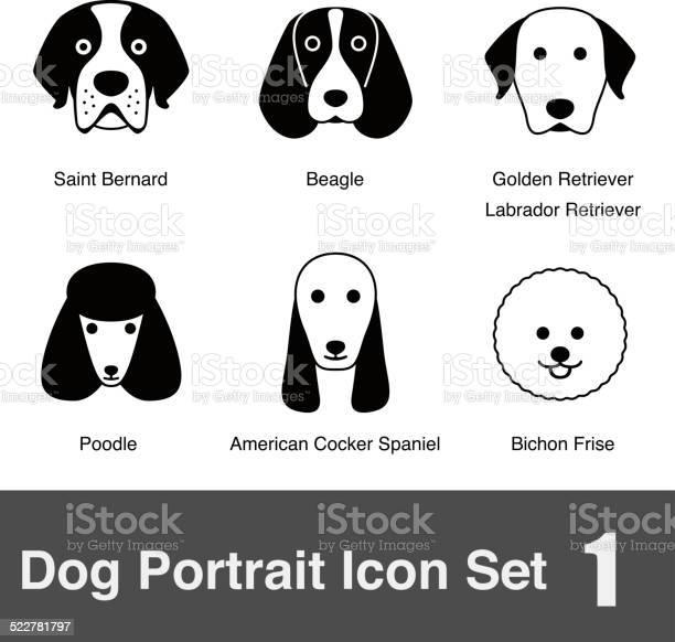 Set of cute dog face icons vector illustration vector id522781797?b=1&k=6&m=522781797&s=612x612&h=upovlmykygxzmlpfu0t5mrseqnw2i70d0bh82zfijcu=