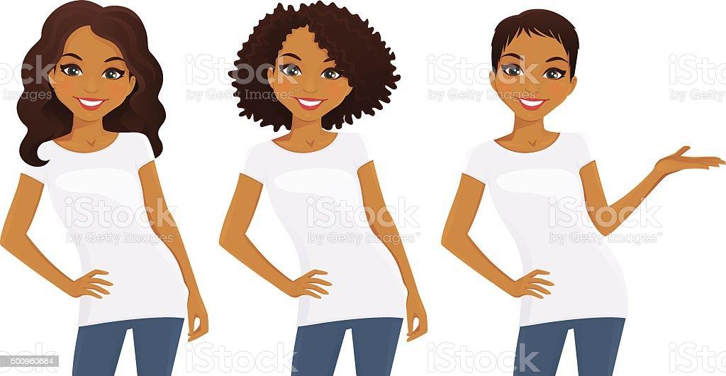 royalty free teenage girls clip art vector images illustrations rh istockphoto com clip art girls basketball clip art girls basketball