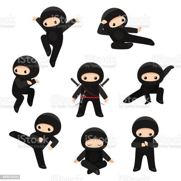 Set of cute ninjas in various poses isolated on white background vector id658326334?b=1&k=6&m=658326334&s=612x612&h=7scjxgmszreegvm cjtm5e18hpea7zgi6klzz3hjbio=