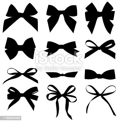 Vector bow for your design