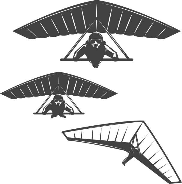 Best Hang Glider Illustrations, Royalty-Free Vector Graphics