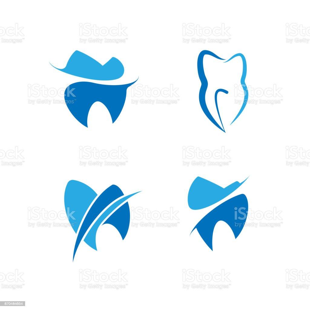 歯科歯科医院のためのセット ベクターアートイラスト