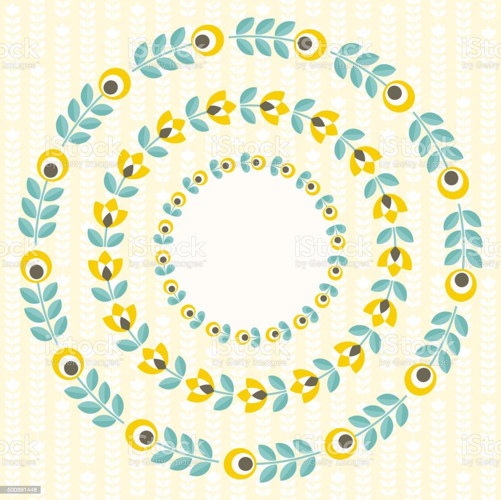 Wunderbar Floralen Rahmen Design Galerie - Rahmen Ideen ...