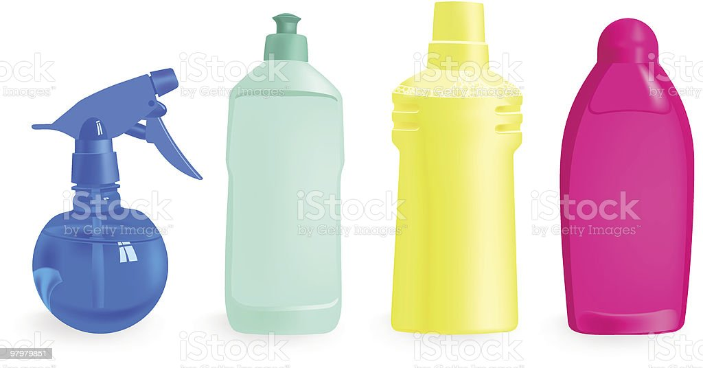 set of detergents royalty-free set of detergents stock vector art & more images of blank