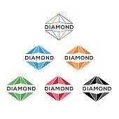 Diamond - Gemstone, Vector, Abstract, Logo, Art And Craft