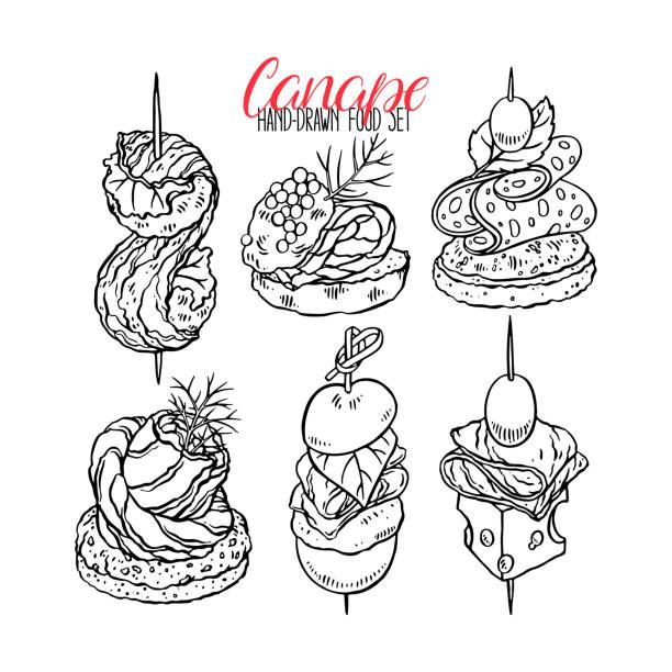 illustrations, cliparts, dessins animés et icônes de ensemble de canapés différentes - entrée