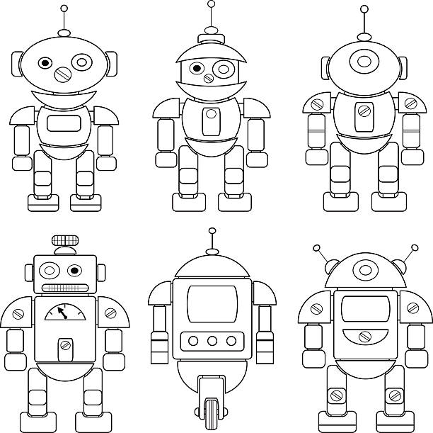 Royalty Free Electric Coloring Book Clip Art, Vector Images ...
