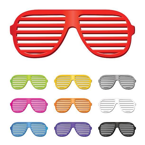 okulary słoneczne - store stock illustrations