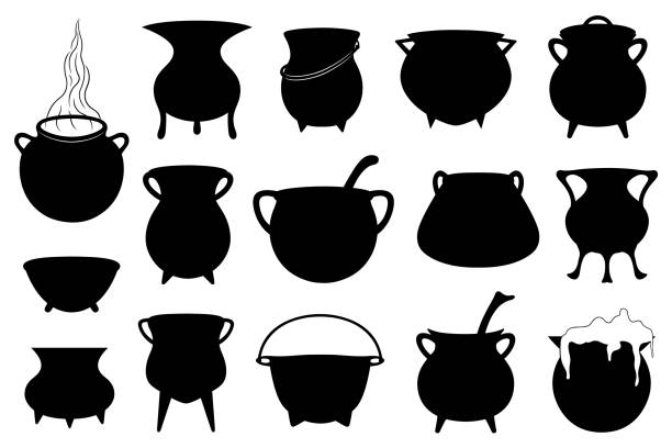 Best Cauldron Illustrations, Royalty-Free Vector Graphics ...