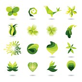 set of green design elements  [url=http://www.istockphoto.com/file_search.php?action=file&lightboxID=8371438 ][img]http://img-fotki.yandex.ru/get/4207/vorele.7/0_3bca6_d7298911_XL.jpg[/img][/url]