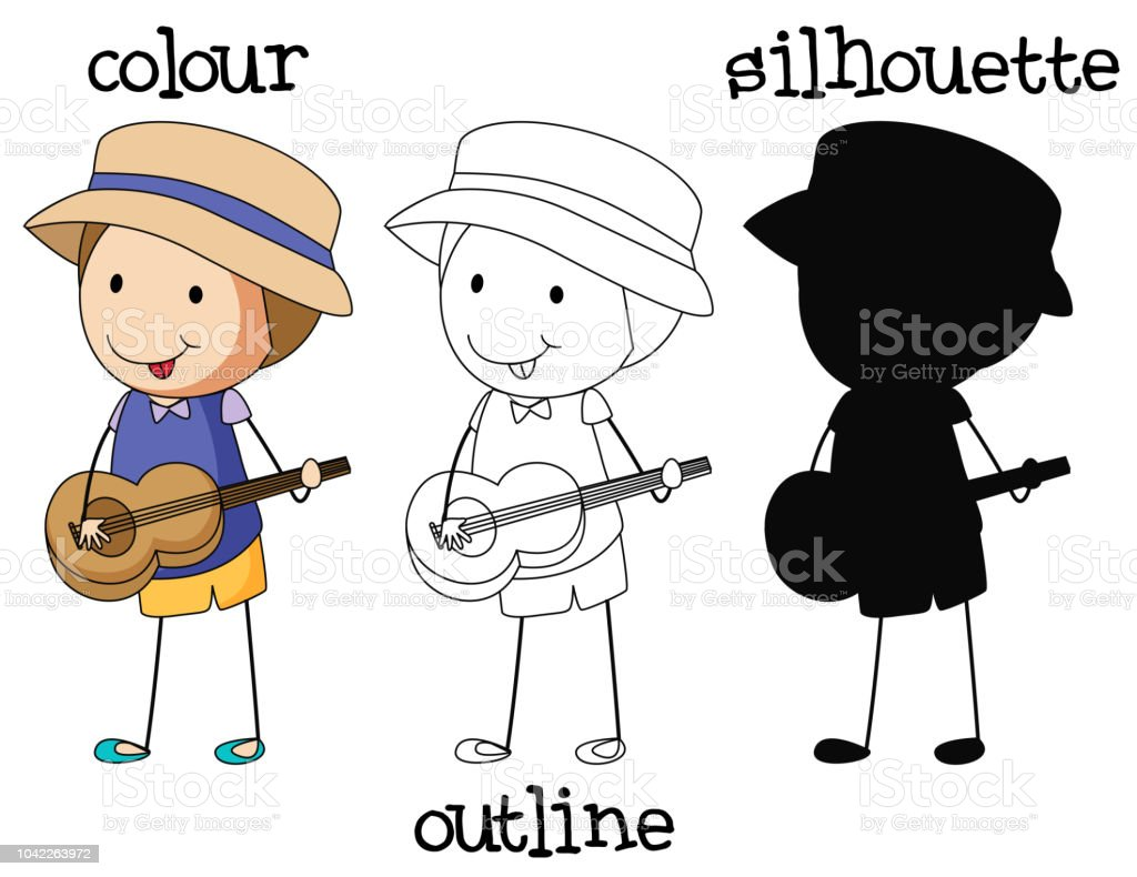 A set of differnt type of graphic vector art illustration