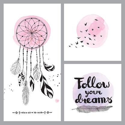 Set of dream cards