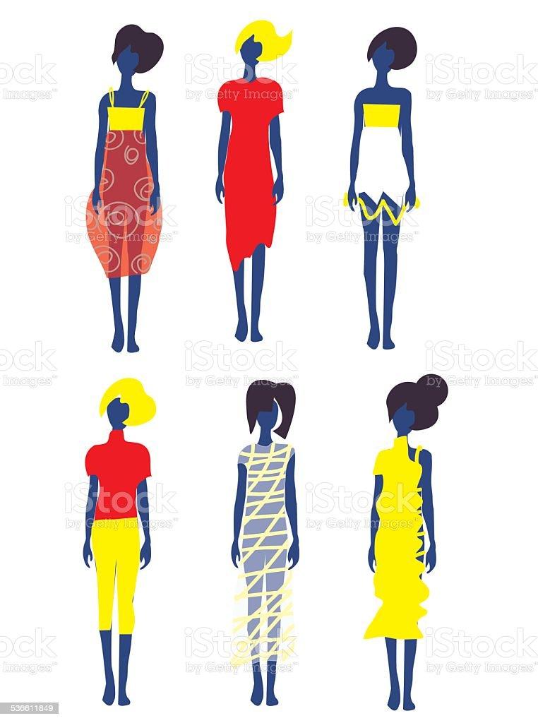 e2cfd8669585 Set di abiti e modelli di moda set di abiti e modelli di moda - immagini