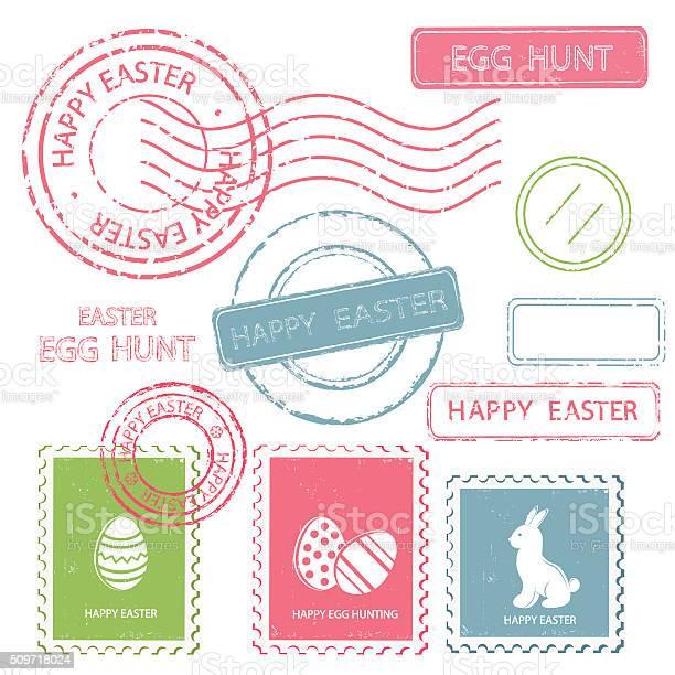 Set of easter postal stamps vector id509718024?b=1&k=6&m=509718024&s=612x612&h=efpgfkfgaa04krrhsiht4jtrh2htsxbq7gly9c1ovsw=