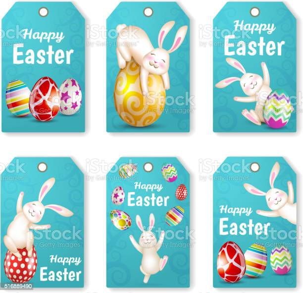 Set of easter rabbits and eggs vector id516889490?b=1&k=6&m=516889490&s=612x612&h=9meh58air4l48lcyfsk3dtwdbr ncu qpatjcv8ormw=