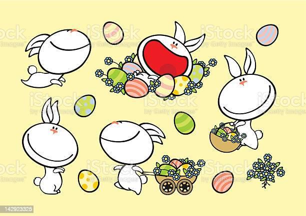 Set of easter rabbits vector id142923325?b=1&k=6&m=142923325&s=612x612&h=ctan jqosheeabg47rarf ffk ojw5pinoge5zr0n38=