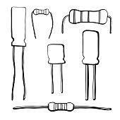 Diode Circuit Clip Art Download 130 symbols (Page 1
