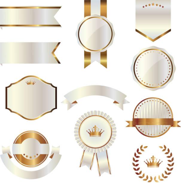 エンブレムのセット - メダル点のイラスト素材/クリップアート素材/マンガ素材/アイコン素材