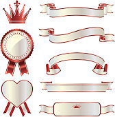 ribbon, award, ranking, label
