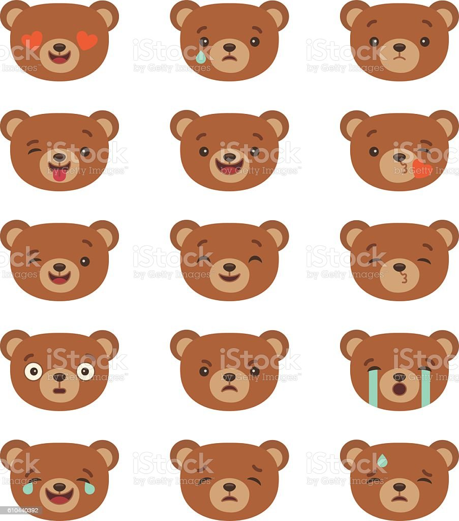 Set of emoticons royalty-free set of emoticons stock illustration - download image now