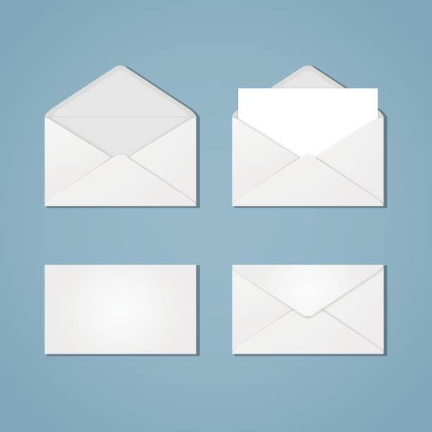 Umschlag-Formulare – Vektorgrafik
