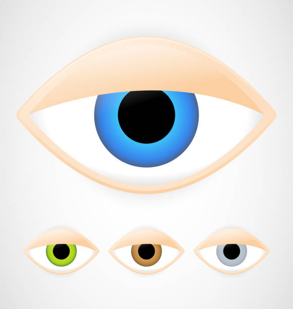 Best Tired Eyes Illustrations, Royalty-Free Vector Graphics & Clip