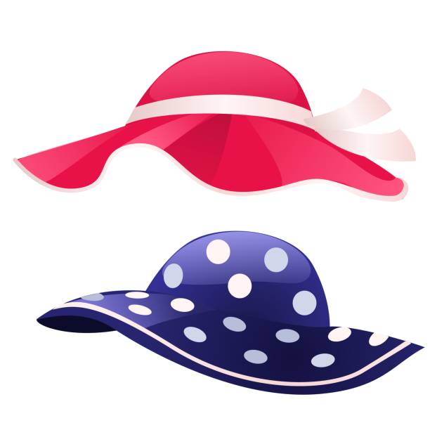 Sun Hat Illustrations, Royalty-Free Vector Graphics & Clip