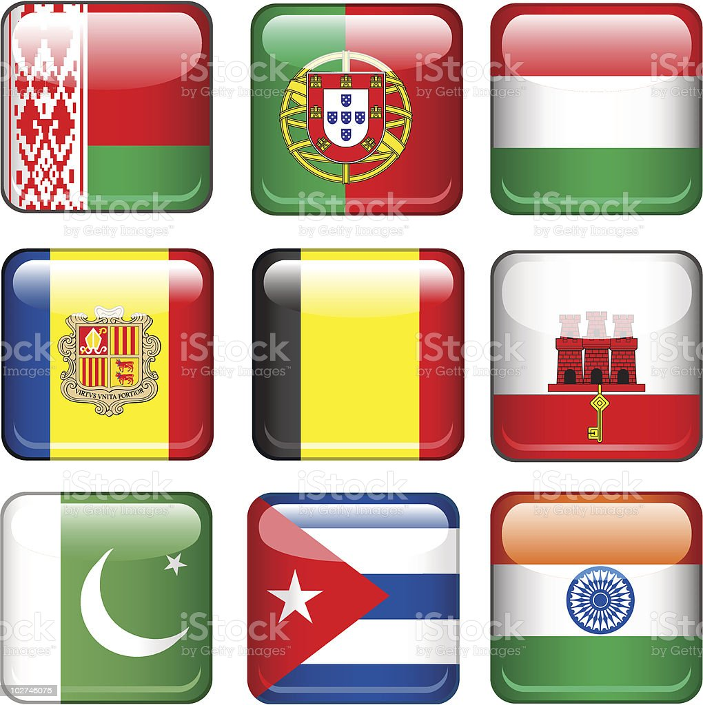 Set of flags royalty-free set of flags stock vector art & more images of all european flags