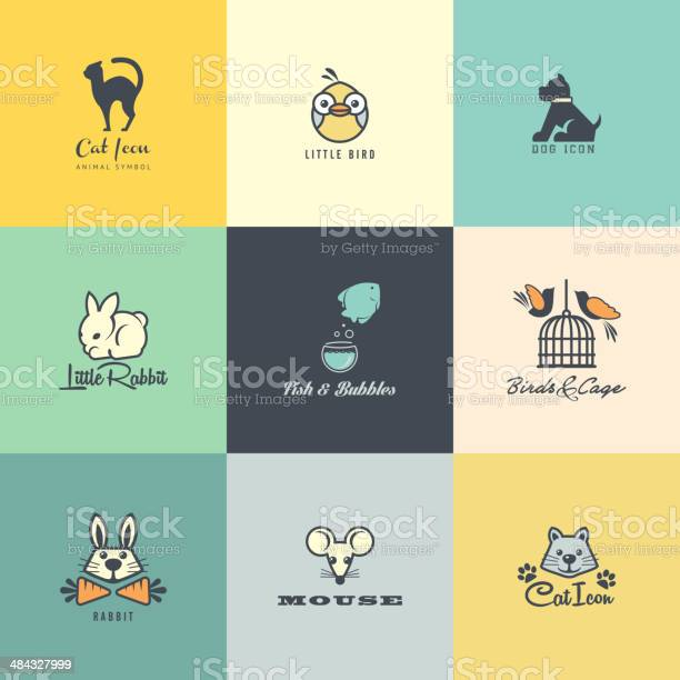 Set of flat design animal icons vector id484327999?b=1&k=6&m=484327999&s=612x612&h=lx3uid 3nuu3dg873t0mipdecjaytjtrpledemz lx4=