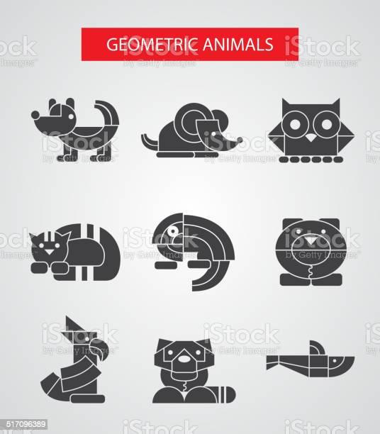 Set of flat design geometric animals icons vector id517096389?b=1&k=6&m=517096389&s=612x612&h=hlalsvibp23elv es3y767d y7yv3zcaos0yw0qqamk=
