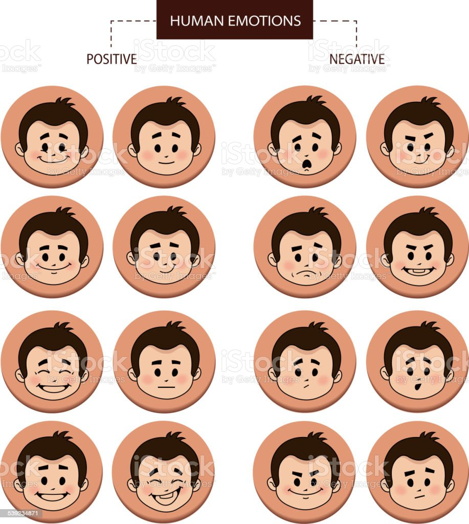 Set of flat icons with people facial expressions royalty-free set of flat icons with people facial expressions stock vector art & more images of 2015
