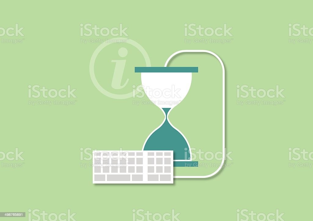 Set of flat illustration design business concept vector art illustration