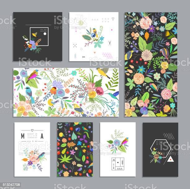 Set of floral cards vector id513242708?b=1&k=6&m=513242708&s=612x612&h=pjobgj g q39ajbvltweeuavb7cr fqxwgiiffiess0=