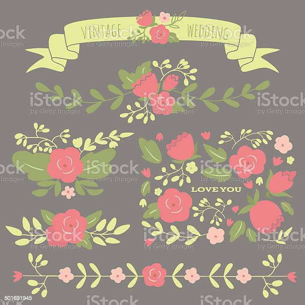 Set of floral elements for a wedding or birthday vector id501691945?b=1&k=6&m=501691945&s=612x612&h=0bcup6bpg7o0cnf0m83 9xz1tzduw24nvglc2wpuf e=
