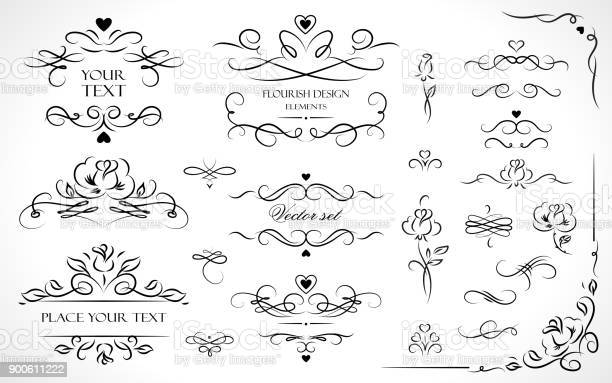 Set of flourish frames borders labels collection of original design vector id900611222?b=1&k=6&m=900611222&s=612x612&h=c 9ynxuiff5lhrb8gaw2pbfxgngia4fps6nlaae7ydm=