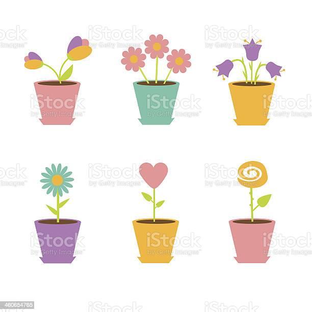 Set of flowers in pots vector id460654765?b=1&k=6&m=460654765&s=612x612&h=h hemms3je2uu9gpvr4 xlxfpml2ci4mzv xxrzy7dy=